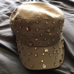 Bejeweled hat